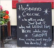 A killer marketing message – selling tips from a pub in Ireland!
