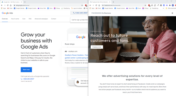 Google Ads vs. Facebook Ads - which is best for B2B companies